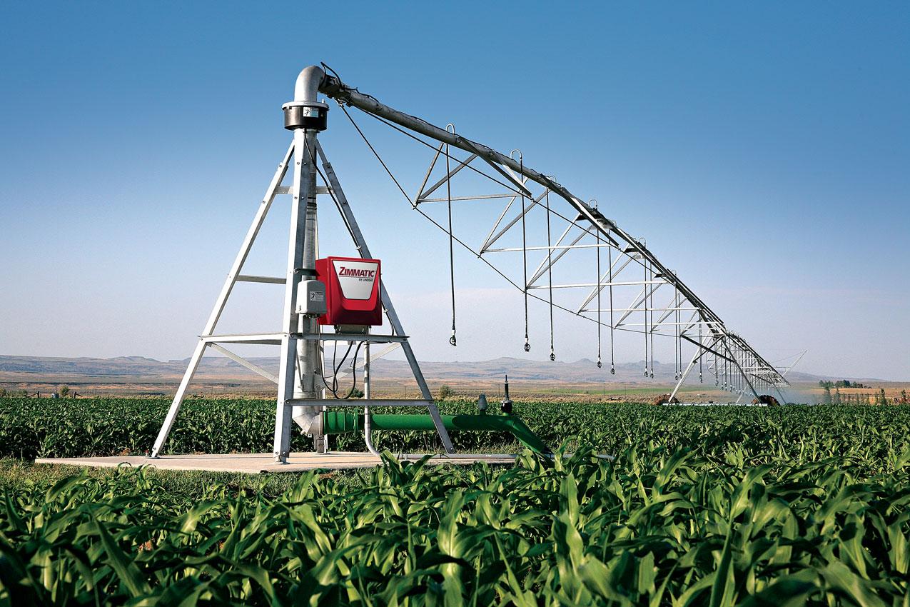 centre pivot irrigation