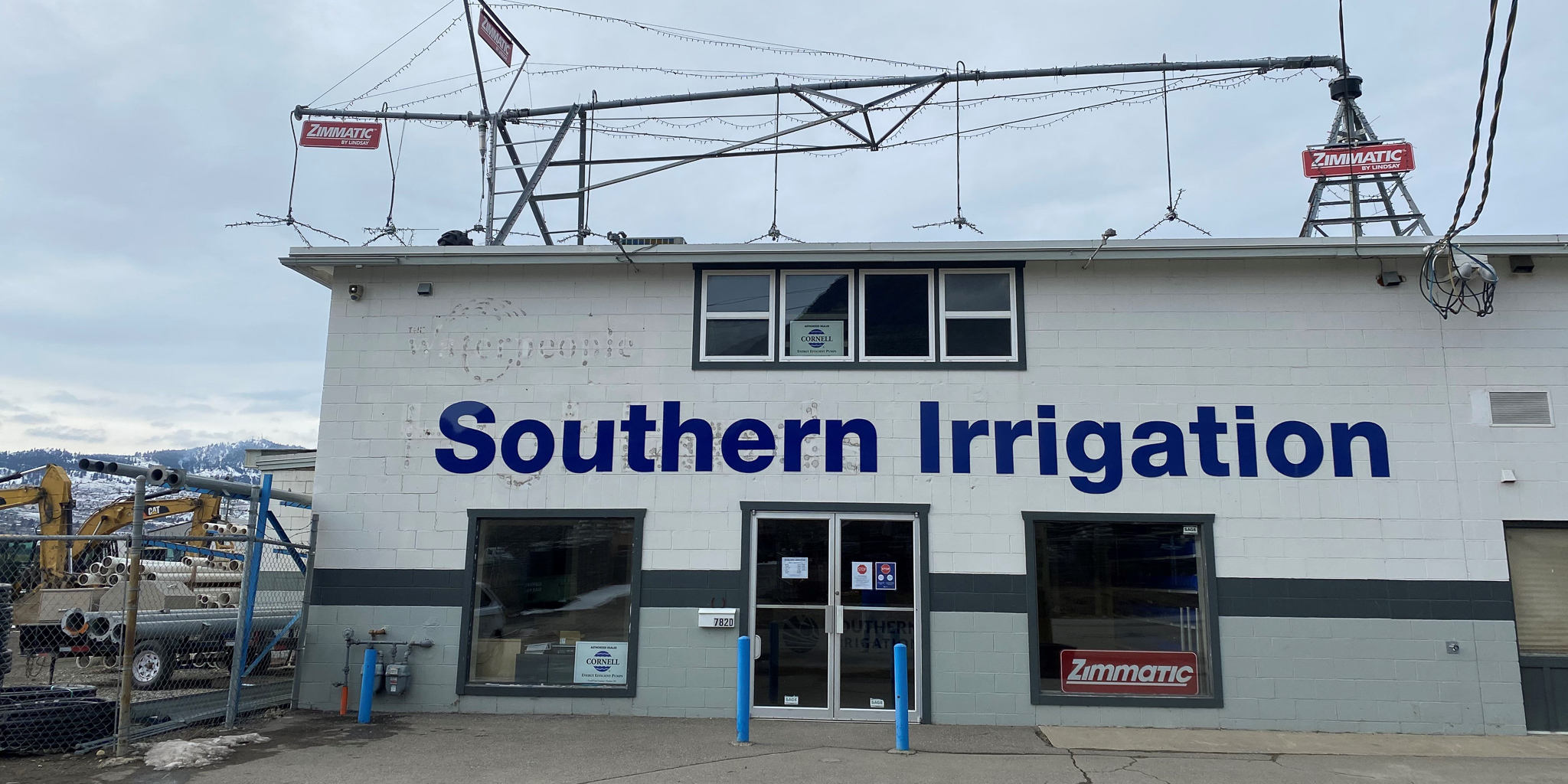 Current Southern Irrigation store (Purchased from Highlands Irrigation)