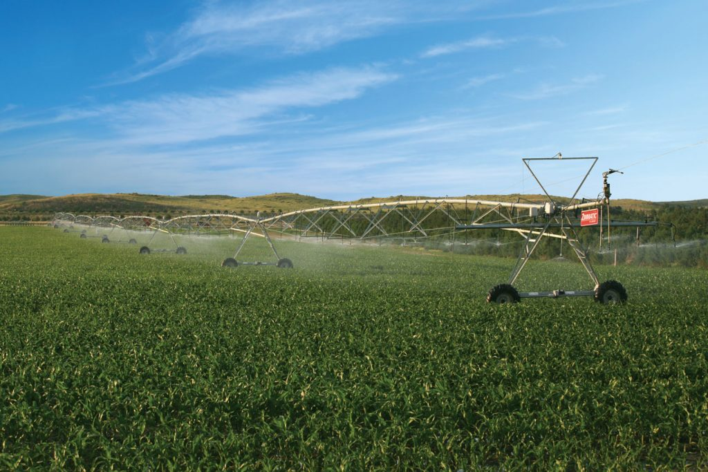 Zimmatic Lateral Move Irrigation